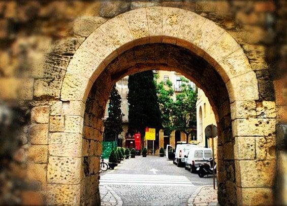 portal del roser itinere