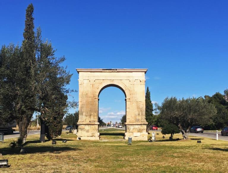 arco romano bera