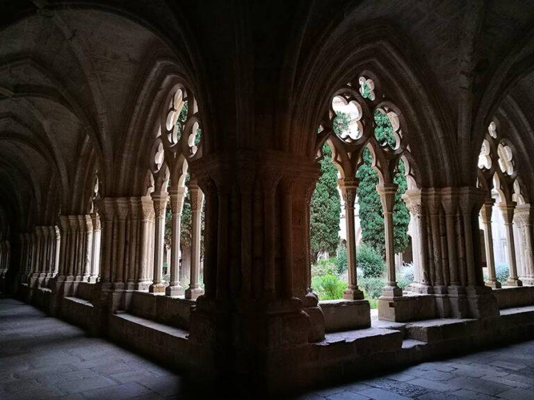 monasterio de poblet galerias