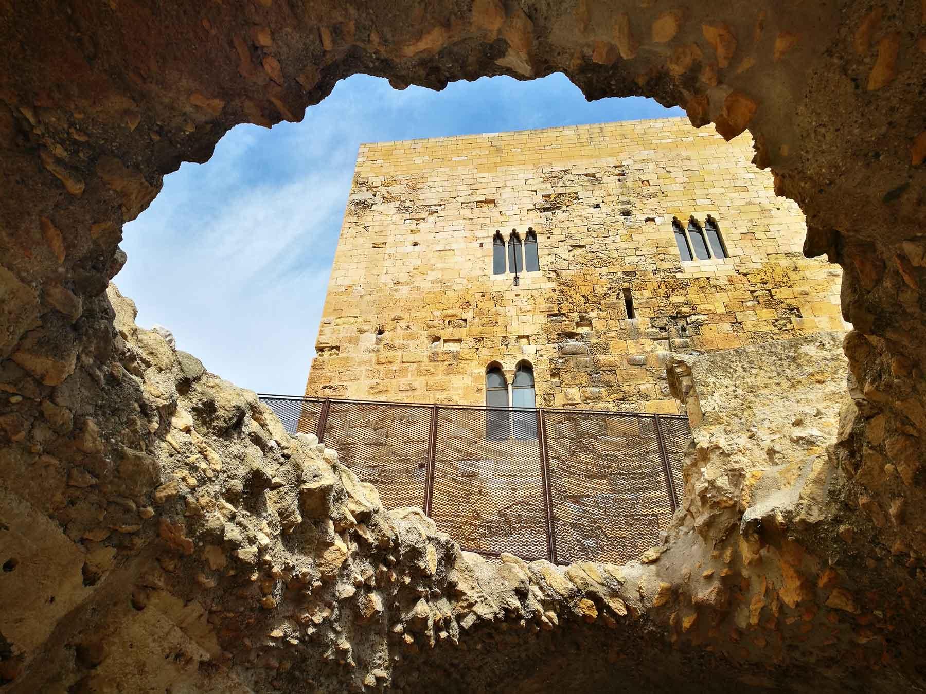tarragona medieval CASTILLO REY TARRAGONA