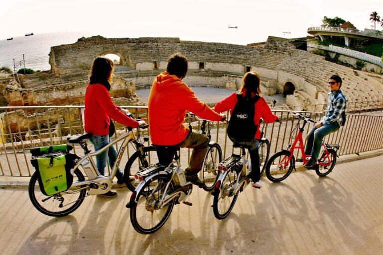 ebike tours amfiteatro tarragona