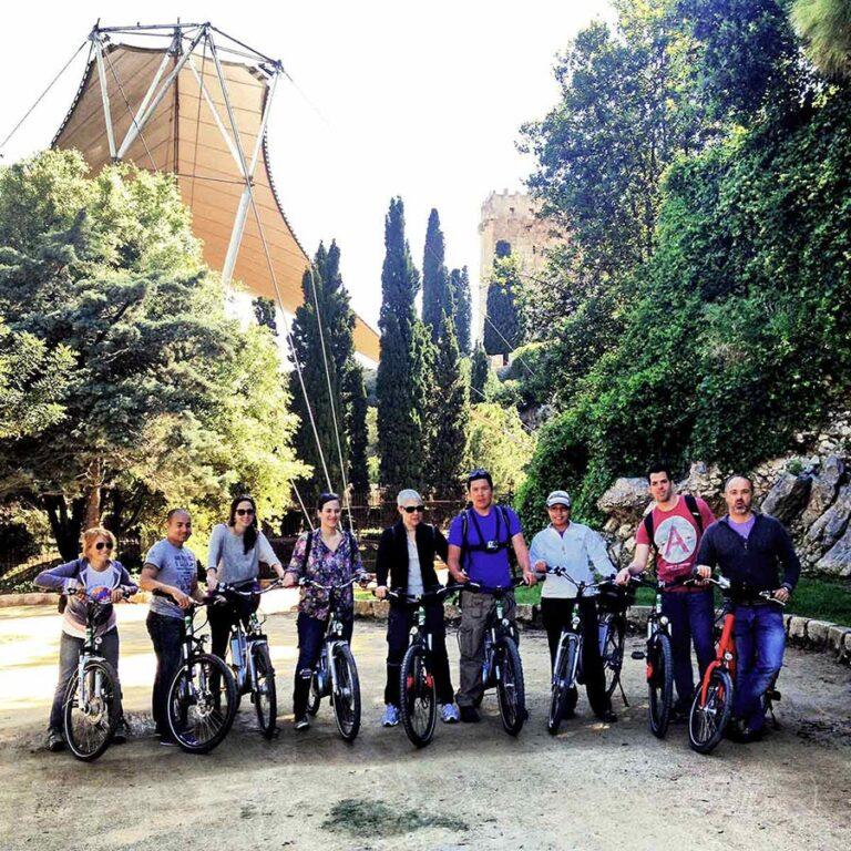 tour bicicleta grupo