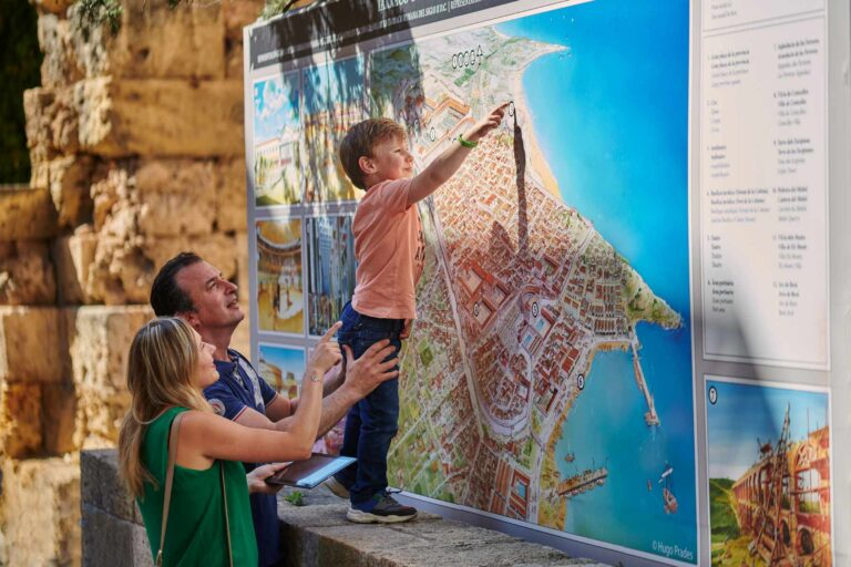 tour gincana tablet mapa tarragona