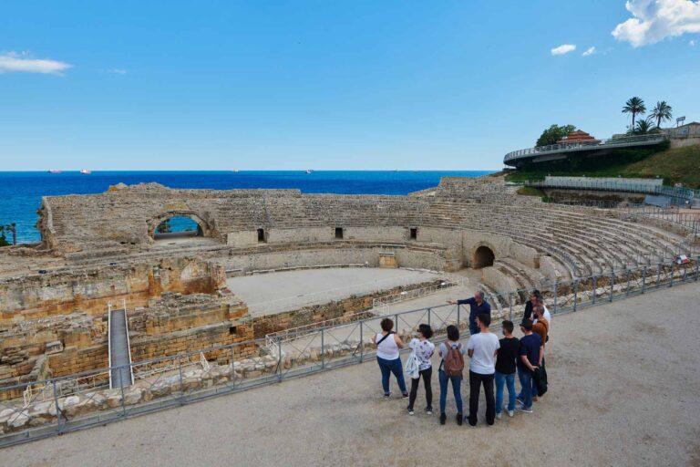 visita guiada anfiteatro tarragona