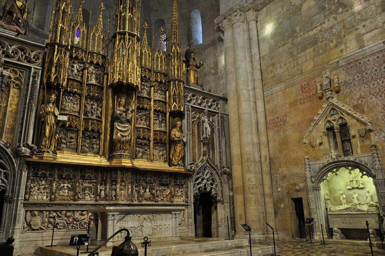 ábside mayor retablo Catedral Tarragona