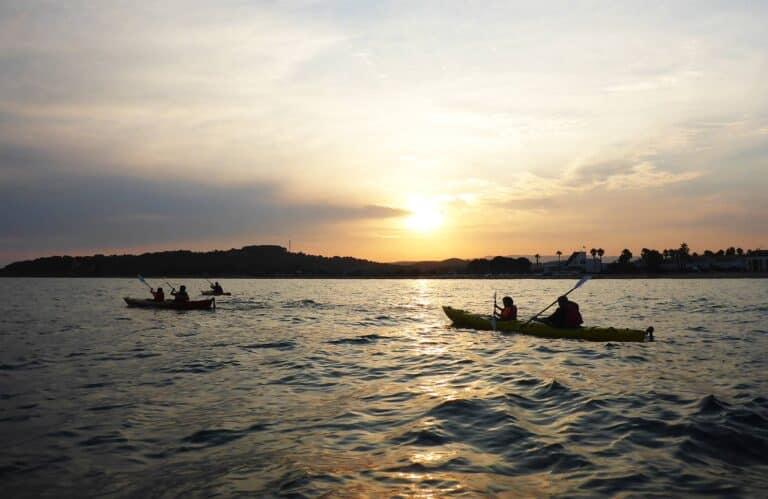 Sunset Kayak Altafulla