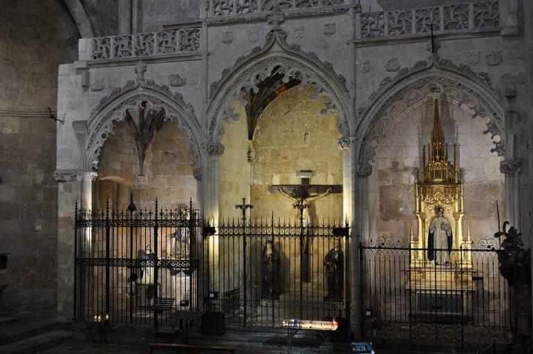 capilla cristo salud Catedral Tarragona