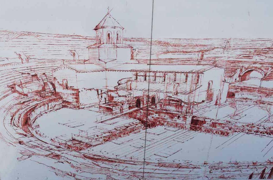 iglesia santa maría milagro tarragona