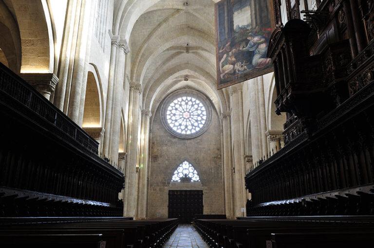 nave principal Catedral Tarragona