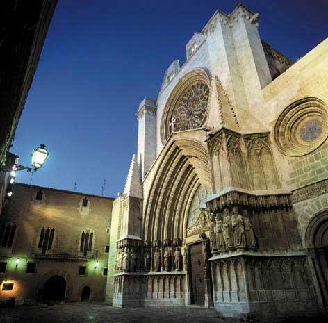 catedral tarragona vista frontal