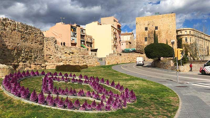 Plaça de la UNESCO a Tarragona