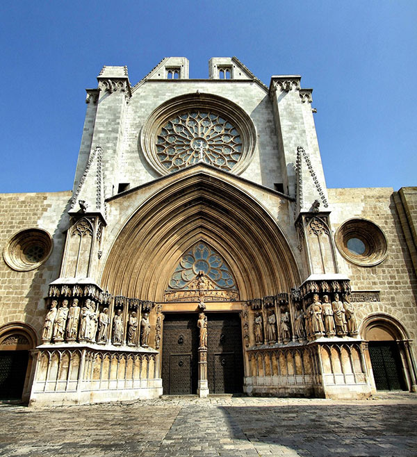 fachada principal Catedral Tarragona