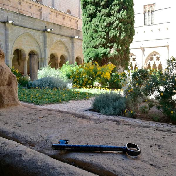 monasterio de poblet llave