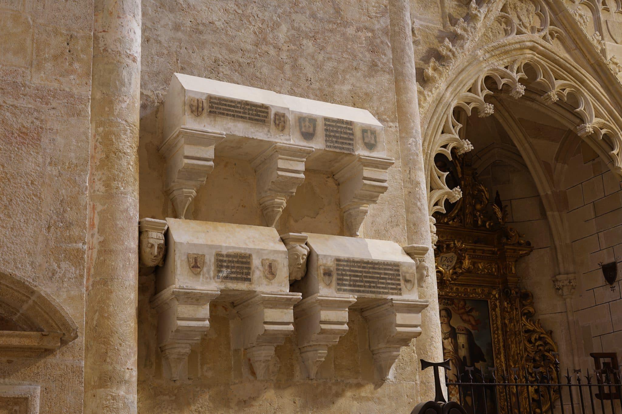 ossaris catedral de Tarragona